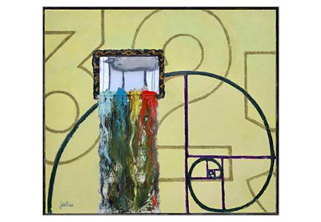 Fibonacci met spiegel